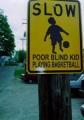 Poor Blind Kid