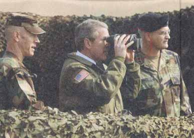 George W. Bush Blindly Pushes Forward
