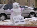 Dying Snowman