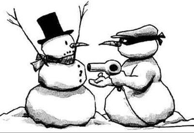 Snowman Holdup
