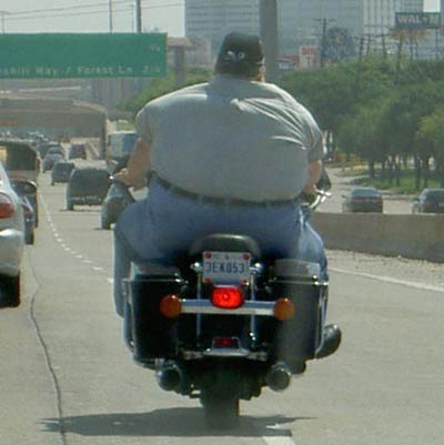 Thanksgiving Biker